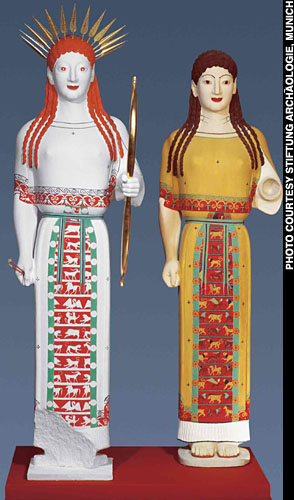 The True Colours Of Greek And Roman Statues By