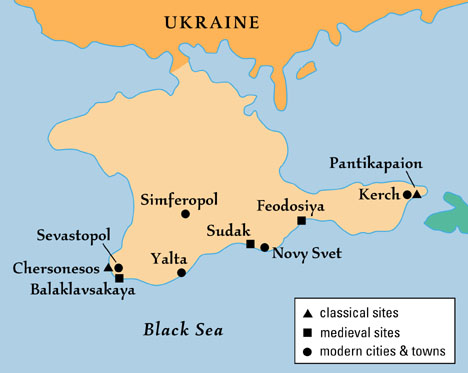 Beneath the Black Sea: The Crimea: Present & Past - Archaeology ...
