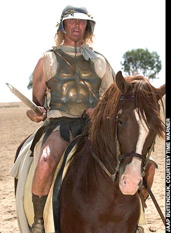 Historian on horseback